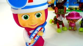 Маша Доктор и Щенячий Патруль - мультики для малышей с игрушками 'Маша и Медведь' 'Щенячий Патруль'