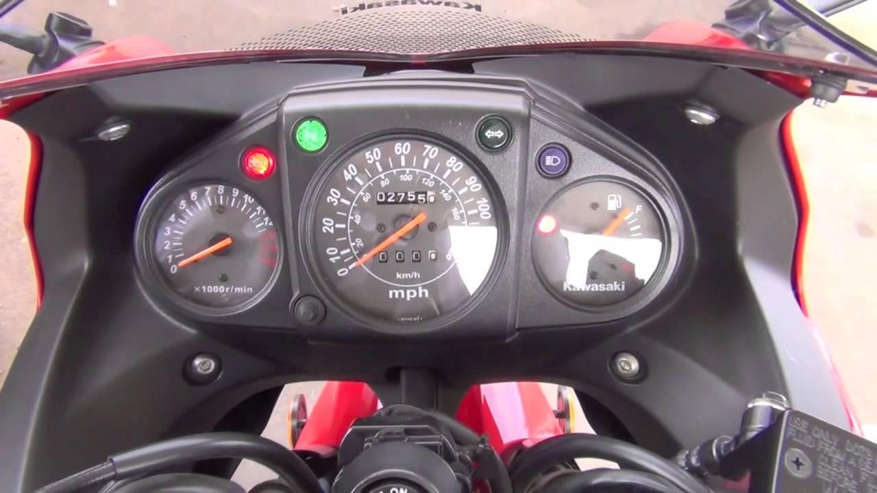 Ninja 250 MPG on the Highway - YouTube