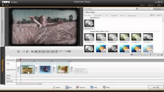 Use Self Created Nero Film Effect Templates in Nero Video Express Mode