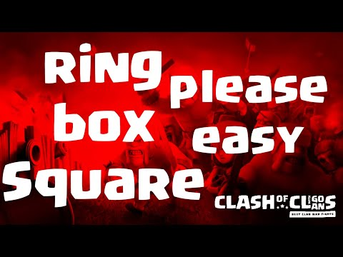 easy how to triple Box, Square or ring base | TH 12 | 3 Star fights | 11/19 clash of clans