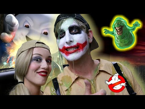 Joker and Harley Quinn: GHOSTBUSTERS
