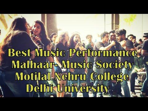 Malhaar-Music Societ | Motilal Nehru College | Delhi University