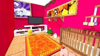 Детская комната Дом ЕвгенБро Как построить дом в Майнкрафт Красивая постройка про Minecraft Мультик