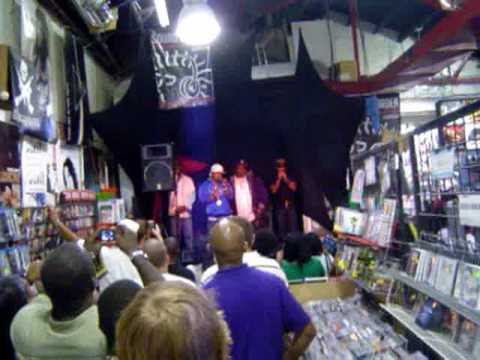 Dru Hill In Store at The Sound Garden Baltimore, MD