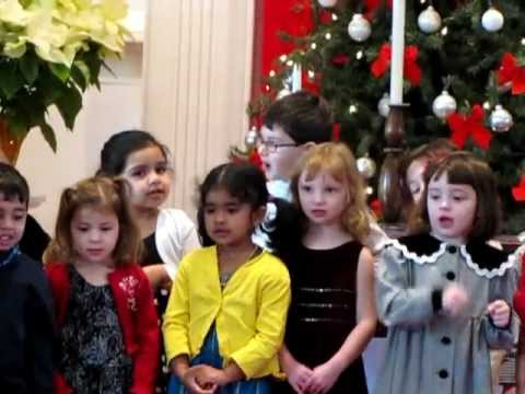 Long Hill Montessori School Christmas recital