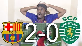 Download Video Barcelona VS Sporting Lisbon 2-0 ►All Goals & Highlights: Reaction MP3 3GP MP4