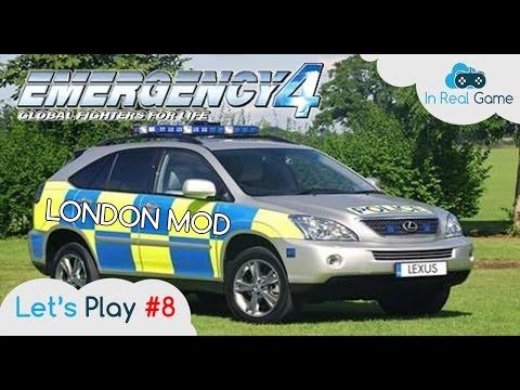 EMERGENCY 4 Multijoueurs [FR] ●London Mod ● Let's Play #8 ● Mod de l'apocalypse ...