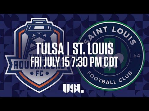 WATCH LIVE: Tulsa Roughnecks FC vs Saint Louis FC 7-15-16