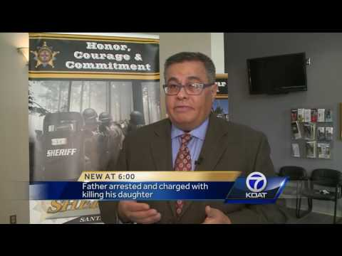 Father Charged With Killing his Daughter
