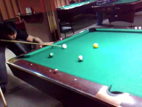 We Are Playing Snooker In Dubai 2008