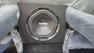 Sony XS-NW1202S Box Subwoofer | Mahindra Scorpio