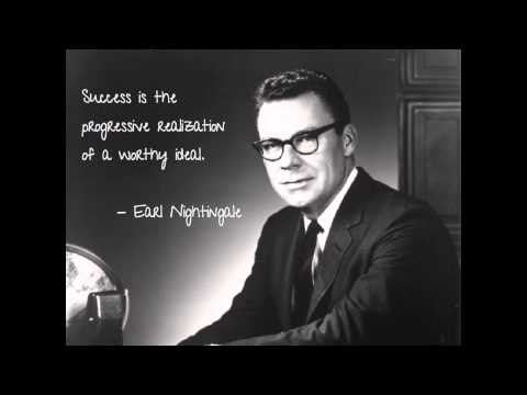 Earl Nightengale The Strangest Secret BEST Motivational Video on the Net!