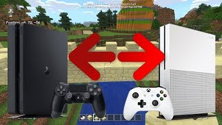ACCIDENTAL Cross Play? - PS4 Minecraft & Sony