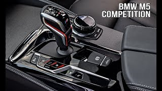 2019 BMW M5 Competition INTERIOR / High-class sports car