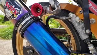 WRX RS150 GP K2 Half Blue Suzuki Satria Fu Fi