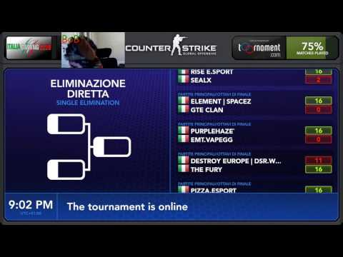 Torneo CSGO di Natale -Italia Gaming Club- RISE vs SpaceZ 16
