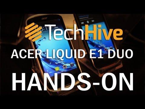 Acer Liquid E1 Duo im Hands-On