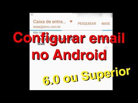 Configurando Email no Android