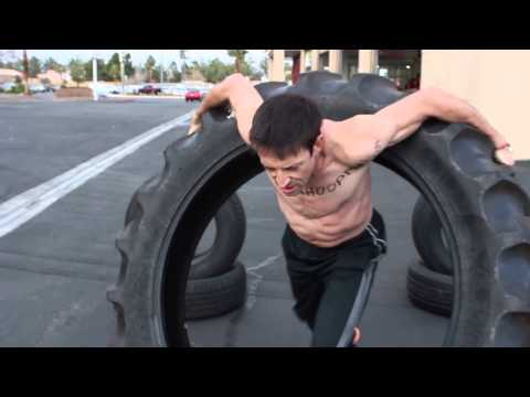 The Hula Hoop Man Hooping Giant Tractor Tire