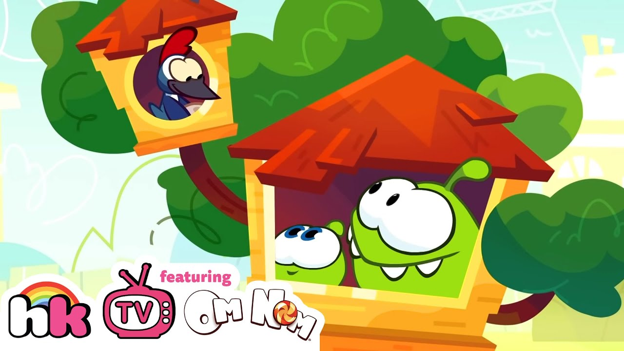 Best of Om Nom Stories - Nibble Nom: Tree House (Season 17) | Funny Cartoon for Kids | HooplaKidz TV