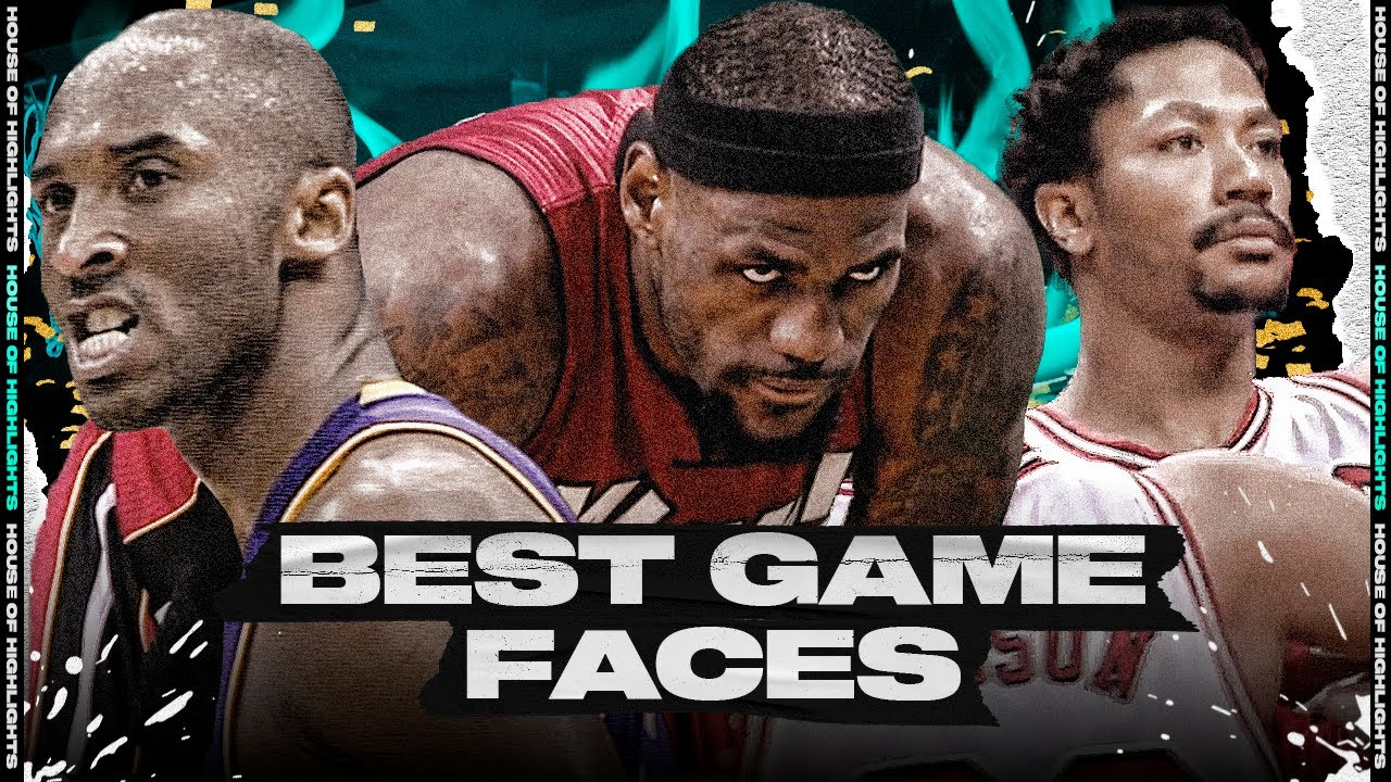 "NBA ""The Ultimate Game Face"" Moments"