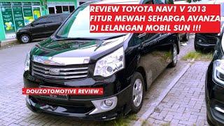 Mobil Mewah Dan Nyaman Dengan Harga Avanza Toyota NAV1 V 2013 Di Lelangan Mobil SUN