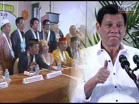 Mga sultan at datu sa Mindanao, suportado pa rin si Pres. Duterte