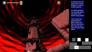 Ecstatica 2 (1997 DOS) Glitches for speedrunning