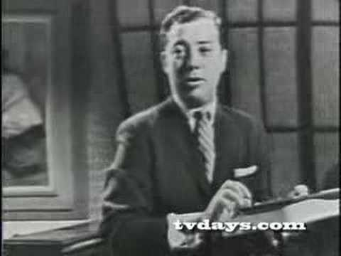ART FORD INTERVIEW ON DUMONT TV CY COLEMAN  COMDEN & GREEN