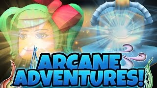 MEILLEUR JEU ROBLOX! Arcane Adventures Ep. 1 w/ SallyGreen!