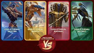 Commander VS S16E2: God-Eternals Battle [EDH Gameplay]