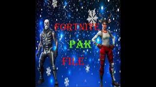 Nouveau fichier Fortnite Pak (Christmas,Halloween) Works In Game Skull,Ghoul,Code Name,Rednose,Renegade,Nog