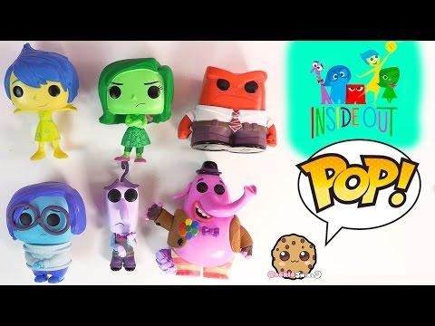 Disney Pixar Inside Out Funko Joy Sadness Anger Disgust
