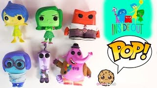 Inside Out Disney - Pixar Funko Pop! Vinyl Movie Toys Video Review - Joy, Sadness, Bing Bong