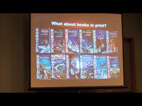 Long Beach Comic Con 2012 Robotech Panel Part 1 of 3