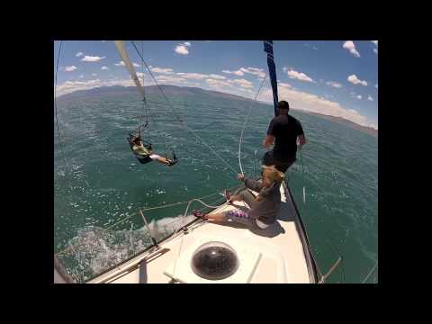 Sailing on the Great Salt Lake 06/14/2014