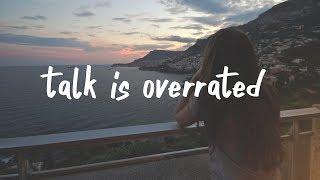Jeremy Zucker - talk is overrated (Lyric Video) stripped.