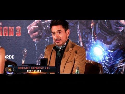 Iron Man 3 - Feature: Robert Downey Jr. und Gwyneth Paltrow in München