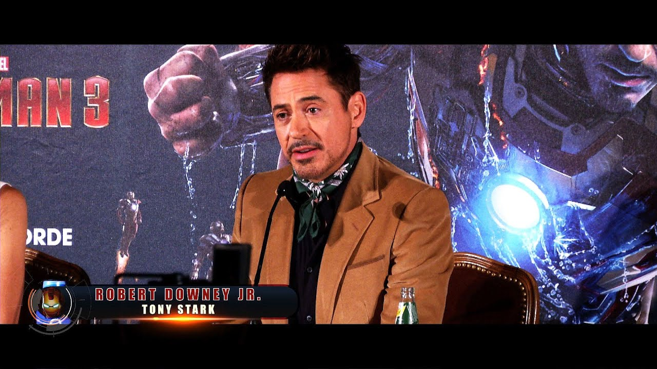 Iron Man 3 - Feature: Robert Downey Jr. und Gwyneth Paltrow in München
