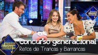 Mafalda Carbonell y a Inma Cuesta en un concurso generacional - El Hormiguero 3.0