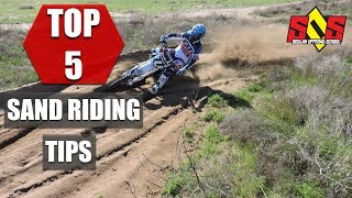 HOW TO RIDE SAND