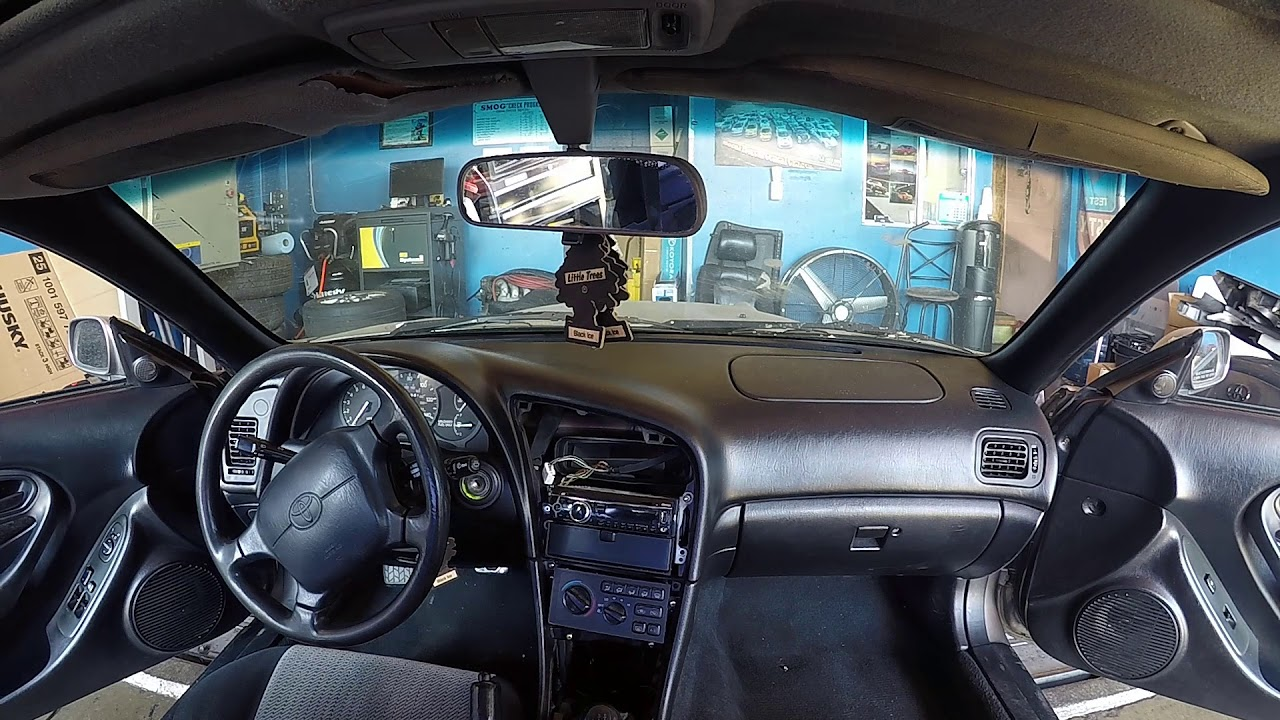 hight resolution of how to install radio 94 toyota celica