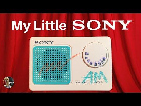 Radio Waves #59: My Little Sony ICR-3 AM Radio Review