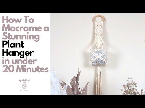 how-to-make-a-macrame-jar-holder