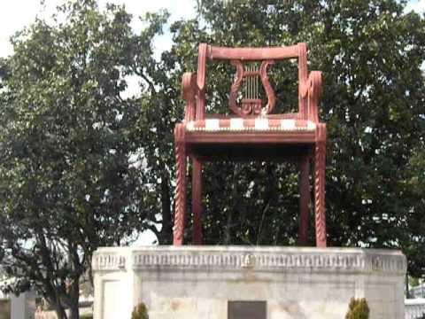 Giant Duncan Phyfe Chair