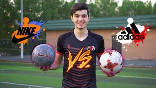 ايش هوه افضل نوع كرة قدم!؟ | اديداس ضد نايك😈 | Adidas VS Nike