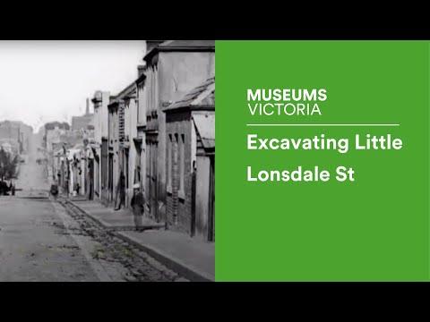 Excavating Little Lonsdale St