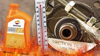 Repsol Moto 2T Jak skutecznie olej chroni silnik? 100°C
