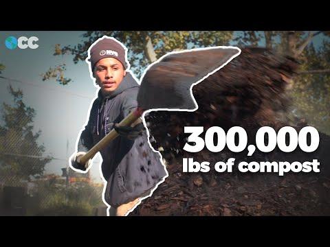 How This Brooklyn Urban Farm Creates 300,000 lbs of Compost by Hand