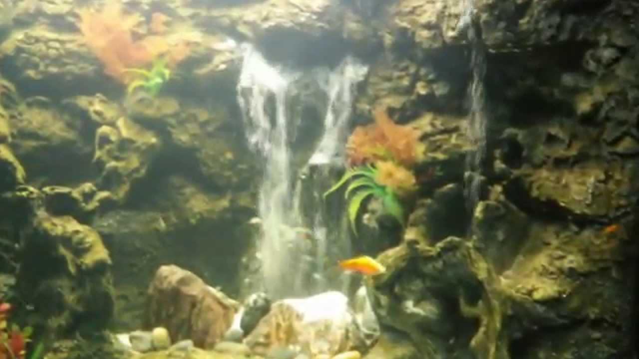 Сделать водопад в аквариуме своими руками